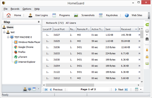 HomeGuard Network Monitor
