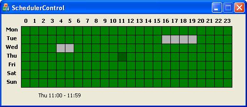 Scheduler Control