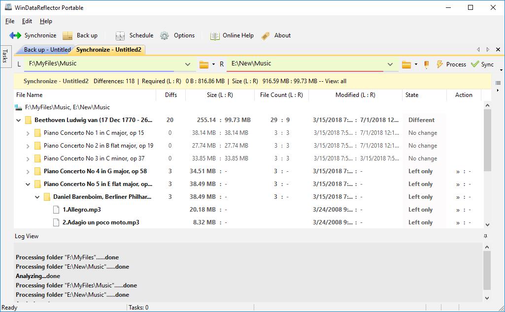 Fast File Synchronization and Backup | WinDataReflector Free